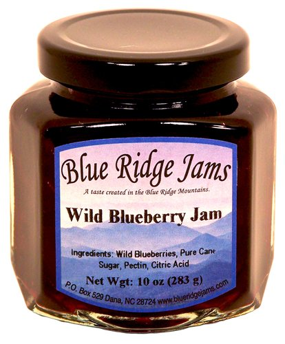 Blue Ridge Jams: Wild Blueberry Jam, Set of 3