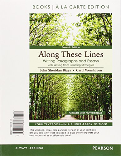 along these lines writing paragraphs and essays fifth edition