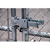 ALEKO® Gate Part #12 Double Gate Latch Fork Latch for 1-3/4 Inch and 2-3/8 Inch Gate Frames