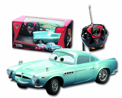 Imagen 2 de Dickie-Spielzeug 203089503 Disney Cars 2 - Coche por control remoto diseño Finn McMissile de 18 cm [Importado de Alemania]