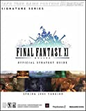 Final Fantasy XI Official Strategy Guide for PS2 & PC (Spring 2004 Version)