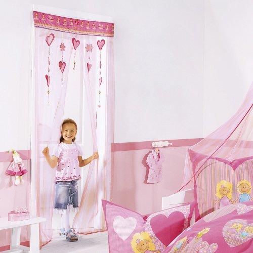vorhang rosa angebote. Black Bedroom Furniture Sets. Home Design Ideas