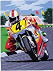 Junior Paint By Number Set Motor Bike Racing