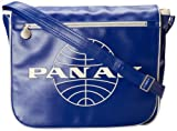 Pan Am Mens Messenger Reloaded, Blue, Large