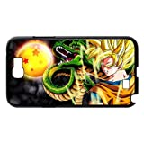 Dragon Ball Goku Customized Hard Plastic Snap On Case For Samsung Galaxy Note 2 N7100