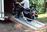 Aluminum Ramp 7 ft. - Motorcycles Onto Trailers - Ramps