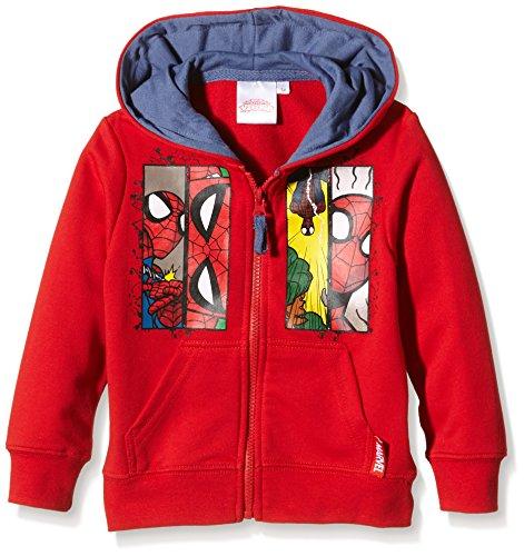 Marvel Spiderman Comic-Felpa Bambino    Red (Amarante) 8 anni