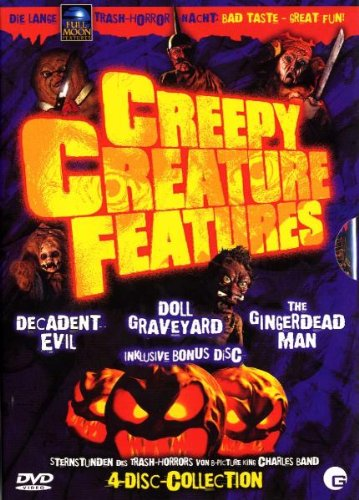 Creepy Creature Features (4 DVDs)