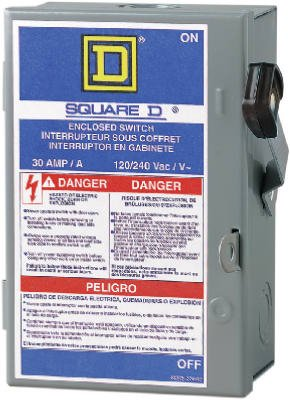 Your One Source L211N 30a Non-Fus/Indr Safety Switch