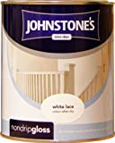 Johnstones No Ordinary Paint One Coat Non Drip Oil Based Gloss White Lace 750ml