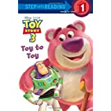Toy Story 3: Toy to Toy (Step Into Reading - Level 1 - Quality)by Tennant Redbank