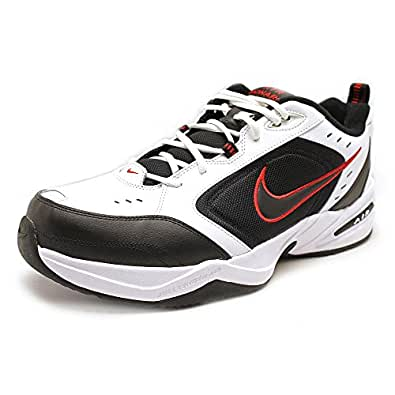 Creative Home Nike Air Monarch IV WhiteBlackVarsity Red JQJWYSJ