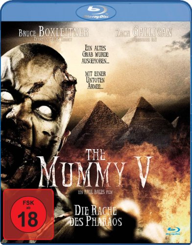 The Mummy V - Die Rache des Pharao [Blu-ray]