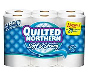 Amazon Com Quilted Northern Bath Tissue Toilet Paper 12