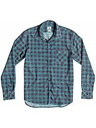 Quiksilver Men's Casual Shirt (3613370603541_EQYWT03179_X-Large_Print Federal Blue)