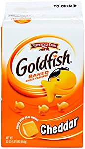 Pepperidge Farm Goldfish, Cheddar, 30 Oz