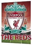 GB eye Ltd, A3 3d Poster, Liverpool FC, Crest, (29.7x 42cm)
