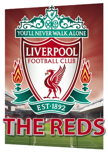 GB eye Ltd, A3 3d Poster, Liverpool FC, Crest, (29.7x 42cm)