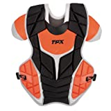 Louisville Slugger TPX Pulse Custom Color Catcher's Gear Set, 3-Piece, Black Orange by Louisville Slugger