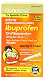 Good Sense Infants Concentrated Drops Ibuprofen Oral Suspension 50 mg per 1.25 mL