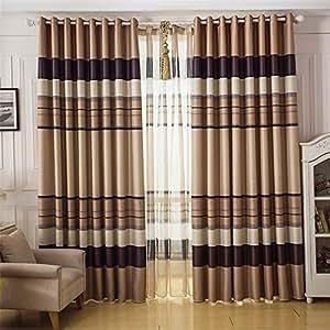 Inthehouse Stripes Blackout Curtains Drapes
