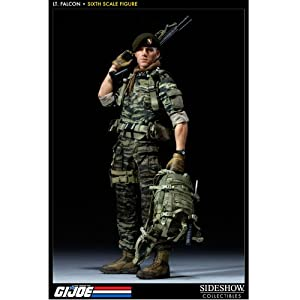 Amazon.com: LT Falcon GI Joe Green Beret 12 Inch Sideshow Collectibles