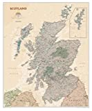 National Geographic Maps Scotland Executive, tubed Wall Maps Countries & Regions (National Geographic Reference Map)
