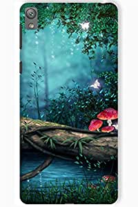 IndiaRangDe Case For Sony Xperia E5 Printed Back Cover