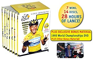 28 Hour Tour De France 1999-2005 Dvd Set by World Cycling Productions