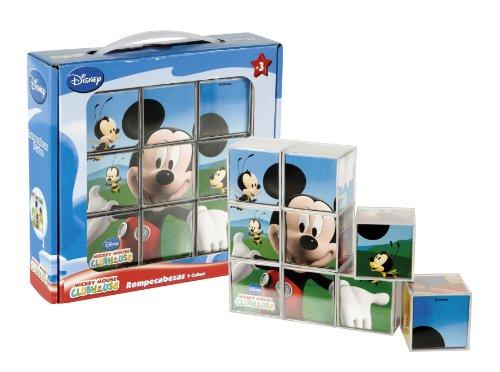 Imagen principal de Mickey Mouse - Rompecabezas diseño Mickey Mouse, 9 Cubos (Cefa Toys 88210)