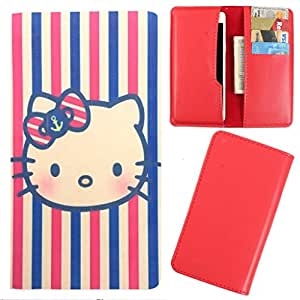 DooDa - For Micromax Canvas Hue 2 A316 PU Leather Designer Fashionable Fancy Case Cover Pouch With Card & Cash Slots & Smooth Inner Velvet
