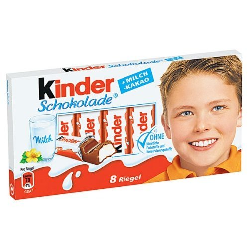 Kinder Chocolate 100g