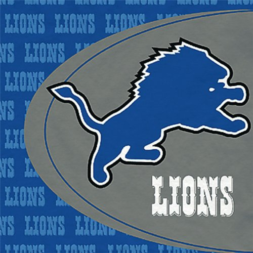 Hallmark Detroit Lions Lunch Napkins (16)