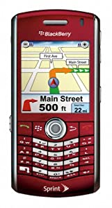BlackBerry Pearl 8130 Phone, Red (Sprint)
