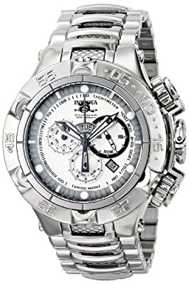 Invicta Men's 15925 Subaqua Analog Display Swiss Quartz Silver Watch