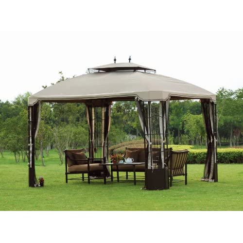 gz120pst big lots 10 x 12 bay window gazebo 2008 canopy