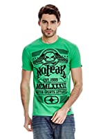 No Fear Camiseta Americana (Verde)