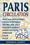 echange, troc Plans Leconte - Plan de ville : Paris, circulation