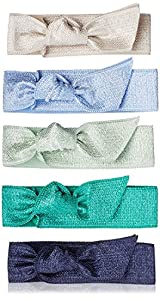 Emi-Jay Set of 5 Hair Ties - Seabreeze