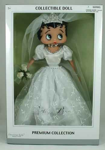 Precious Kids 31182 Bridal Dress Betty Boop Fashion Doll