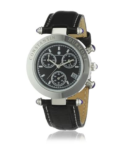 Constantin Durmont Reloj Visage CD-VISL-QZ-LT-STST-BK Negro