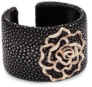 Borgioni Rose Sting Ray Cuff Bracelet