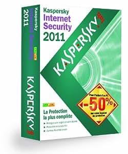 Kaspersky Internet Security 2011 (3 postes / 1 an) - Offre spéciale