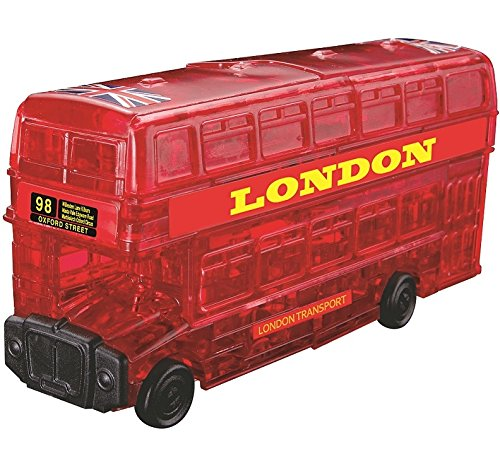 BePuzzled London Bus Crystal Puzzle 1 38 china gold dragon bus models xml6122 diecast bus model gold