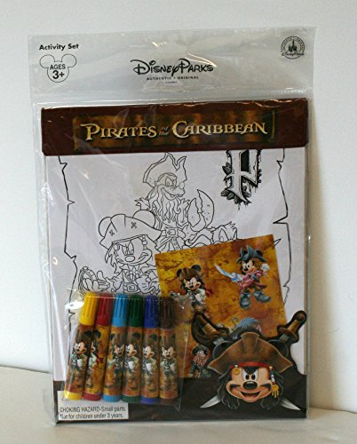Disney Parks Activity Set Pirates of the Caribbean