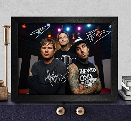 blink-182-group-autographed-signed-photo-8x10-reprint-rp-pp-travis-barker-matt-skiba-mark-hoppus-tom