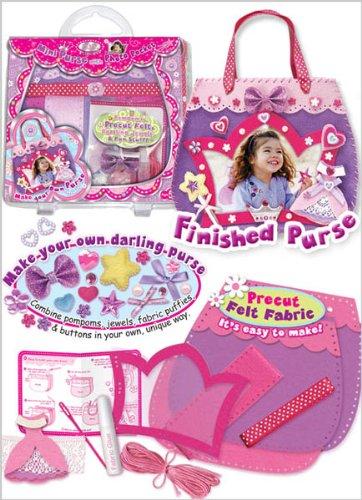 Learn to Sew DIY Photo Pocket Mini Purse Sewing Kit