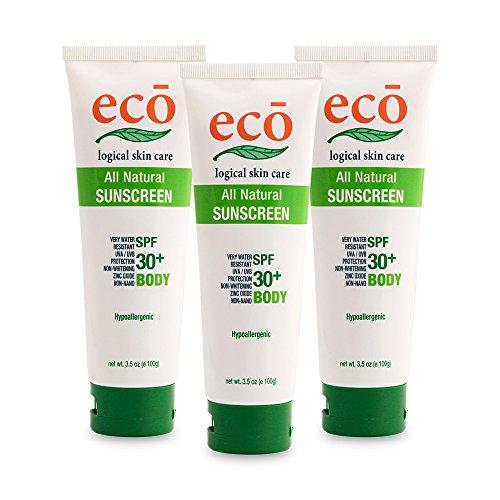 エコロジカルスキンケアサンスクリーン3本セット