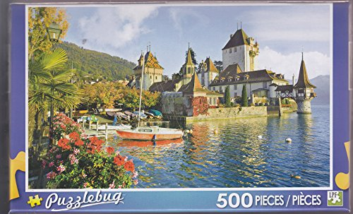 Puzzlebug 500 ~ Oberhofen Castle, Lake, Thun, Switzerland
