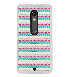 ifasho Animated Pattern colrful tribal design Back Case Cover for Moto G3